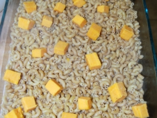Mix In Cubed Cheese