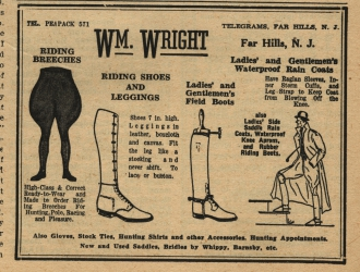 From The Attic: Chronicle Advertisements