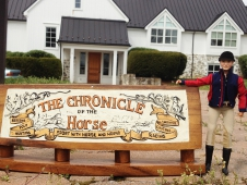George Morris At The Chronicle