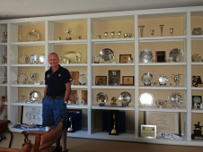 George Morris' Trophy Wall