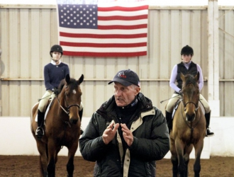 George Morris Clinic At The Buffalo Therapeutic Riding Center