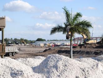 Global Dressage Festival Site Under Construction