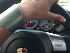Peeling Out In A Porsche
