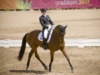 Lauren Billys Pan Am Dressage