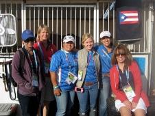 Ursula Lange, Bea di Grazia, Frances Munoz, Kristin Cook, Lauren Billys and Betsy Billys