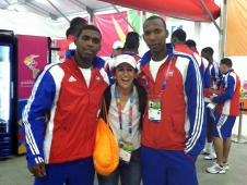 The Cuban Volleyball Team