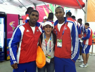 Making New Friends At The Pan Ams