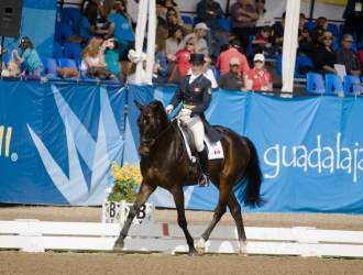 Pan American Games Eventing Dressage