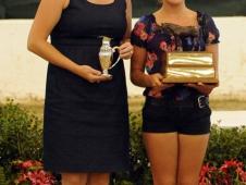 Lauren Fahey and Emily Regan