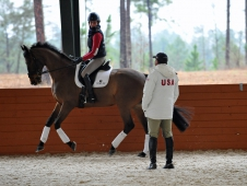 "Jennie Brannigan Gets Help From David O'Connor <a href="" http://www.chronofhorse.com/article/adjustability-key-usef-high-performance-eventing-training-sessions "">During A Training Session.</a>During A USEF High Performance Eventing Training Session"