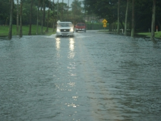 Flooded Roadways