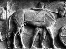 Xanthian Groom With Horse