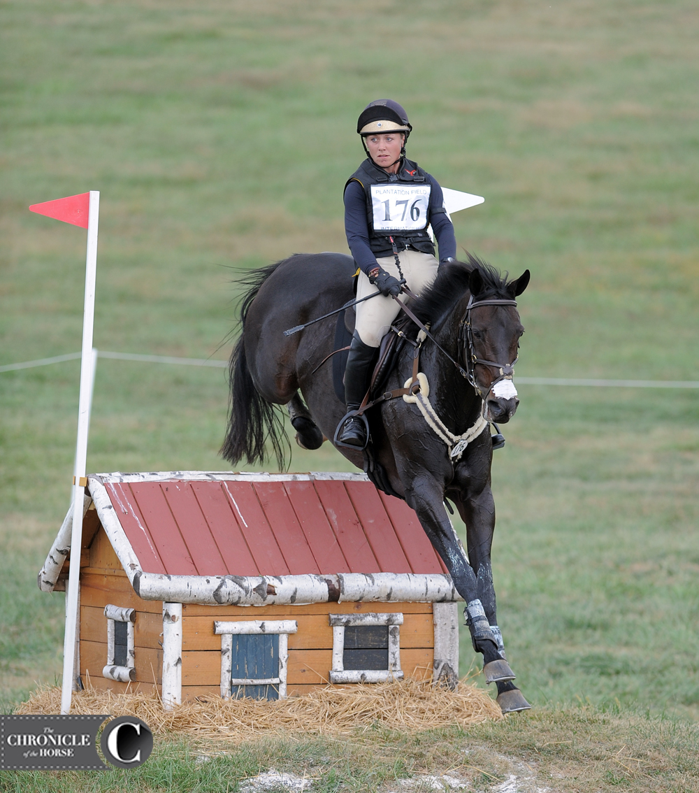 Booli Selmayr and Jaeda at the Plantation Field CIC*** (Pa.) in 2016. Photo by Lindsay Berreth.
