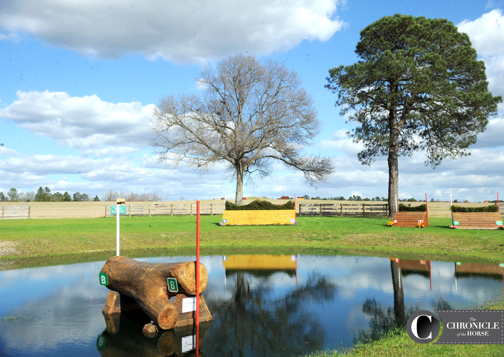 Pine Top features four water jumps on course. Photo by Lindsay Berreth.
