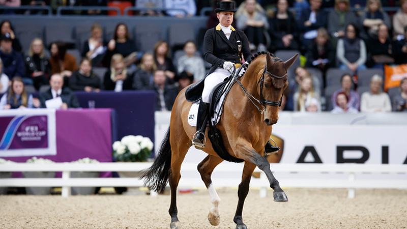 Isabell Werth and Emilio. Photo by Stefan Lafrentz/FEI