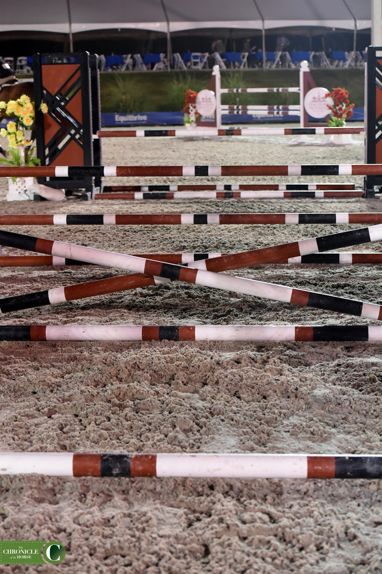 This grid, set across the center of the expansive Ocala Horse Properties Stadium, tripped up many competitors. Photo by Mollie Bailey.