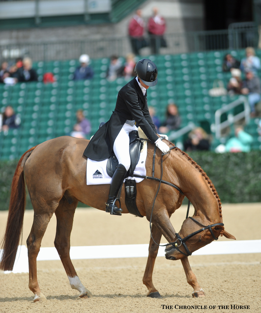 Sinead Halpin and Manoir de Carneville enjoyed several top-10 finishes at Rolex Kentucky. Photo by Lisa Slade.
