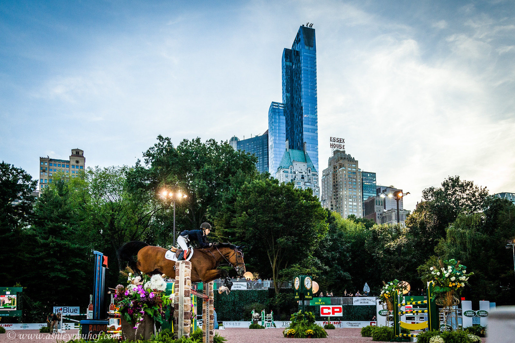 The Rolex Central Park Horse Show will return to New York City Sept. 20-24, and tickets are available now. Photo by Ashley Neuhof.
