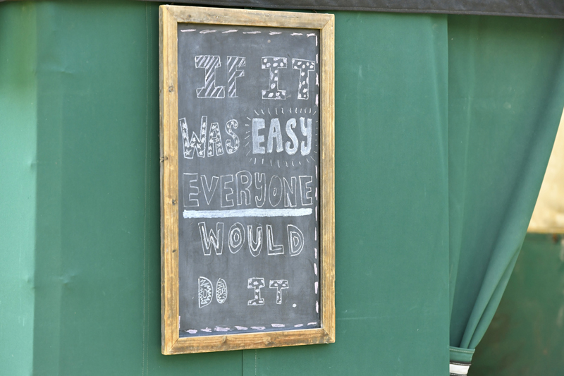 1Daily words of wisdom at Charlebois Farm