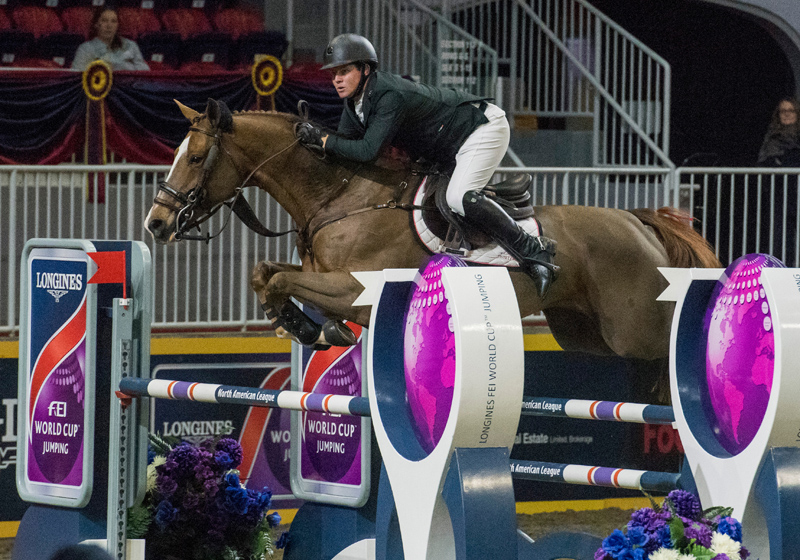 The LONGINES FEI World Cupª Jumping, Toronto Canada, Nov 8, 2017