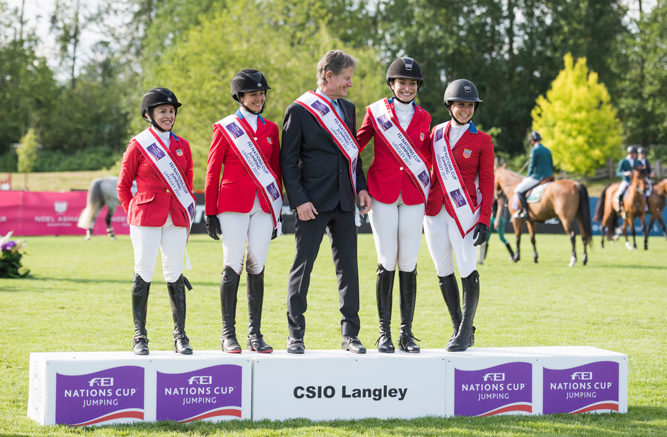 The Longines FEI NATIONS CUP™ Langley, Canada. June 2 2017