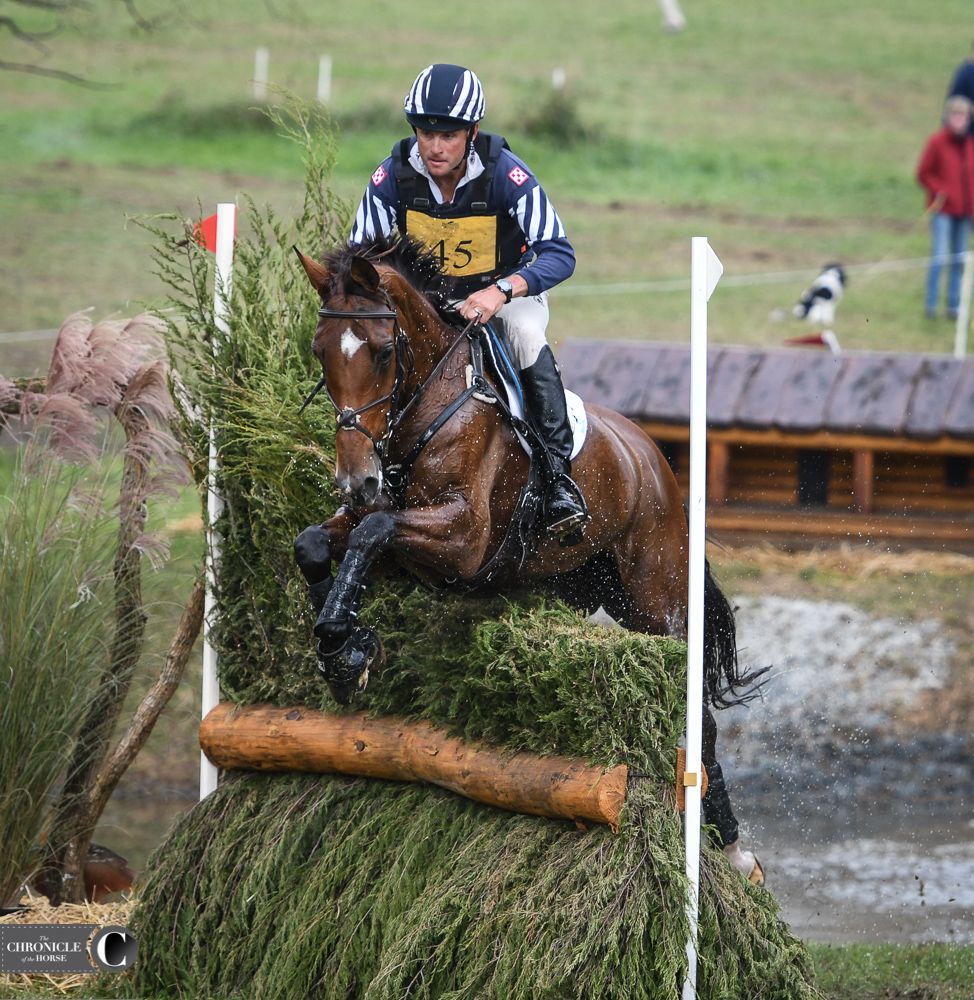 Martin Makes A Move With On Cue At Fair Hill CCI**