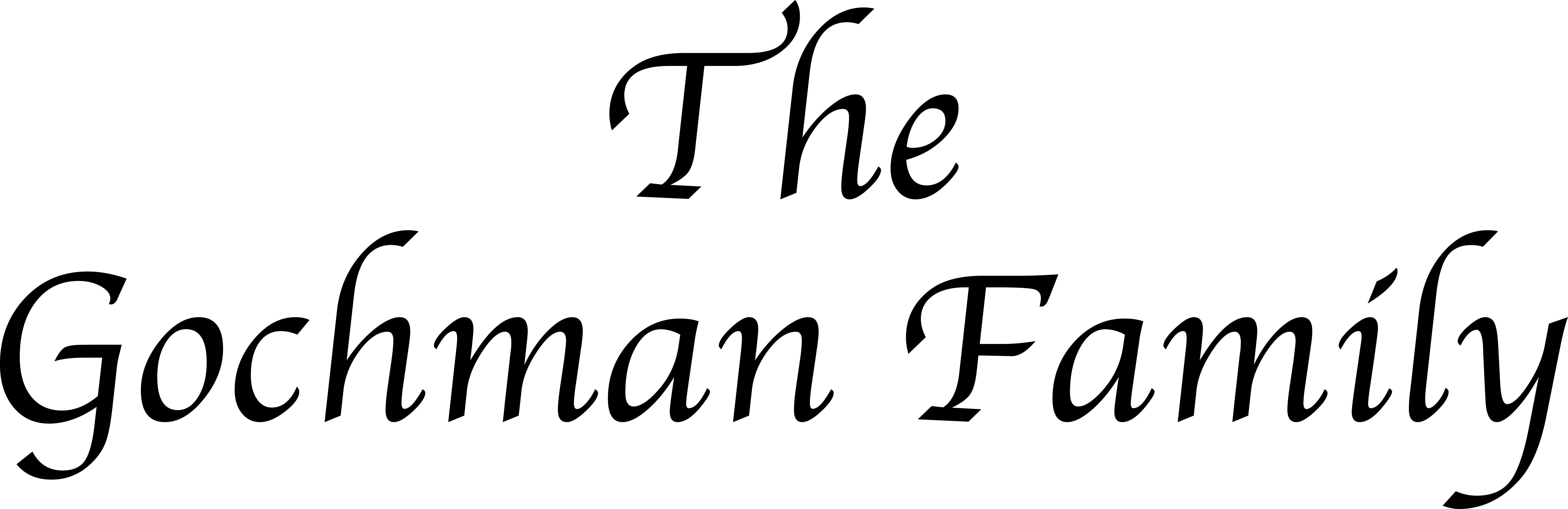 The Gochman Family