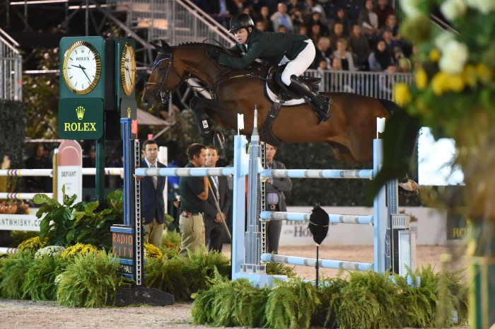 Shane Sweetnam and Chaqui Z Photo by Josh Walker for The Chronicle of the Horse