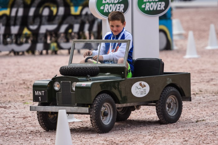 Land Rover Mini-Car Driving ExperiencePhoto by Meg Banks for Equestrian Sport Productions