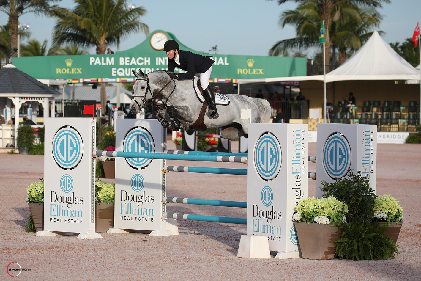 McLain Ward and Bellefleur PS Z. Photo © Sportfot.