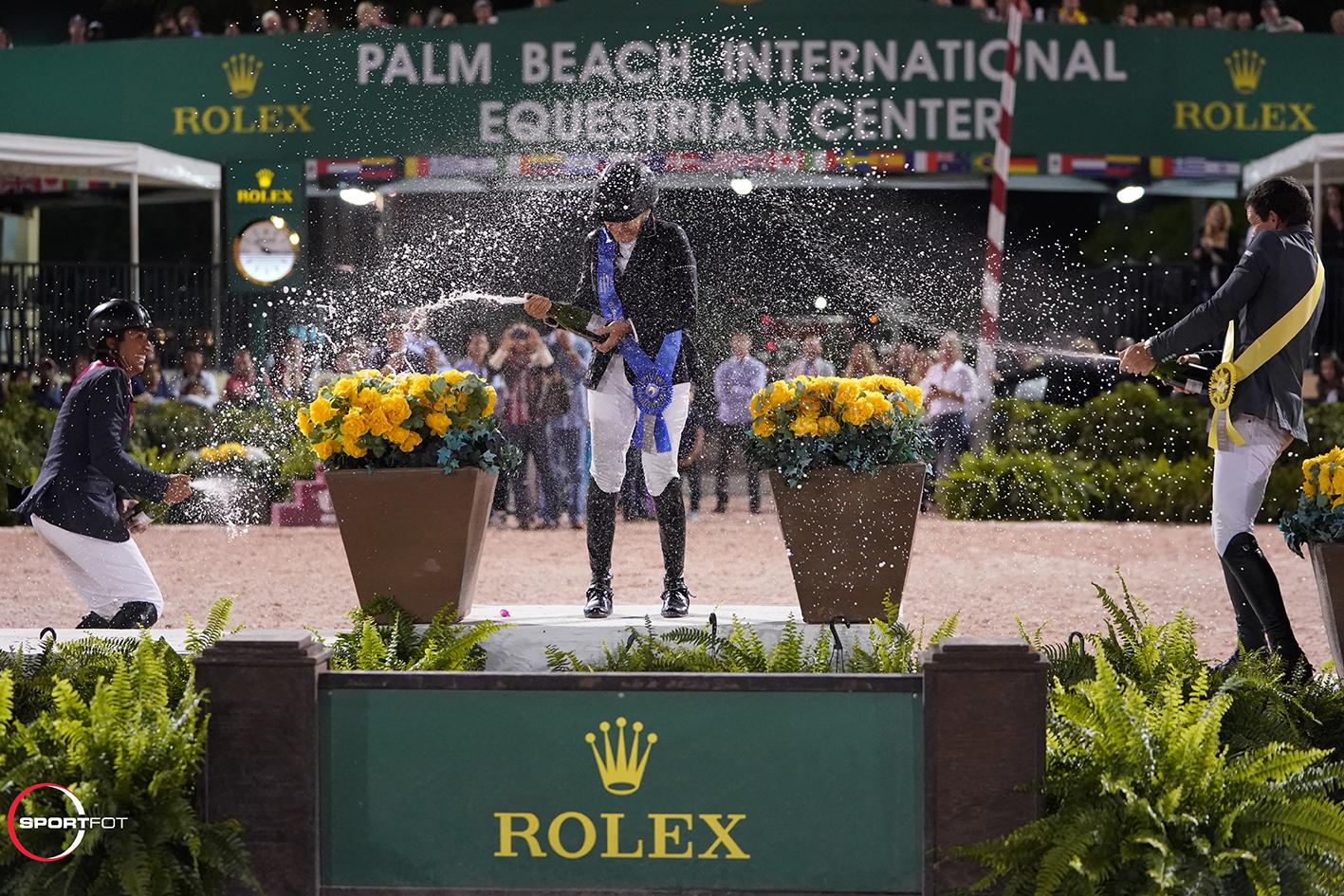 Rolex GP champagne spray Engle Azevedo Swail 33101542 Sportfot
