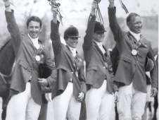 "The U.S. Eventing Team Won Silver At The <a href=""http://www.chronofhorse.com/article/chronicle-over-decades-1990s"">1996 Atlanta Olympic Games</a>"
