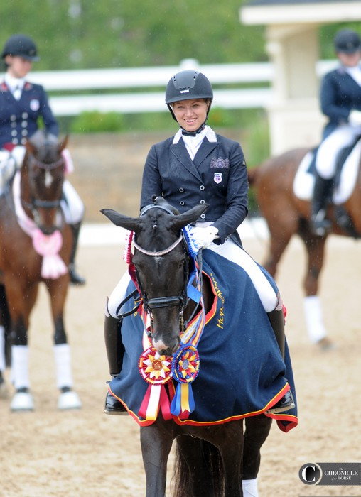 Rebekah Mingari won ribbons galore. Photo by Lisa Slade.