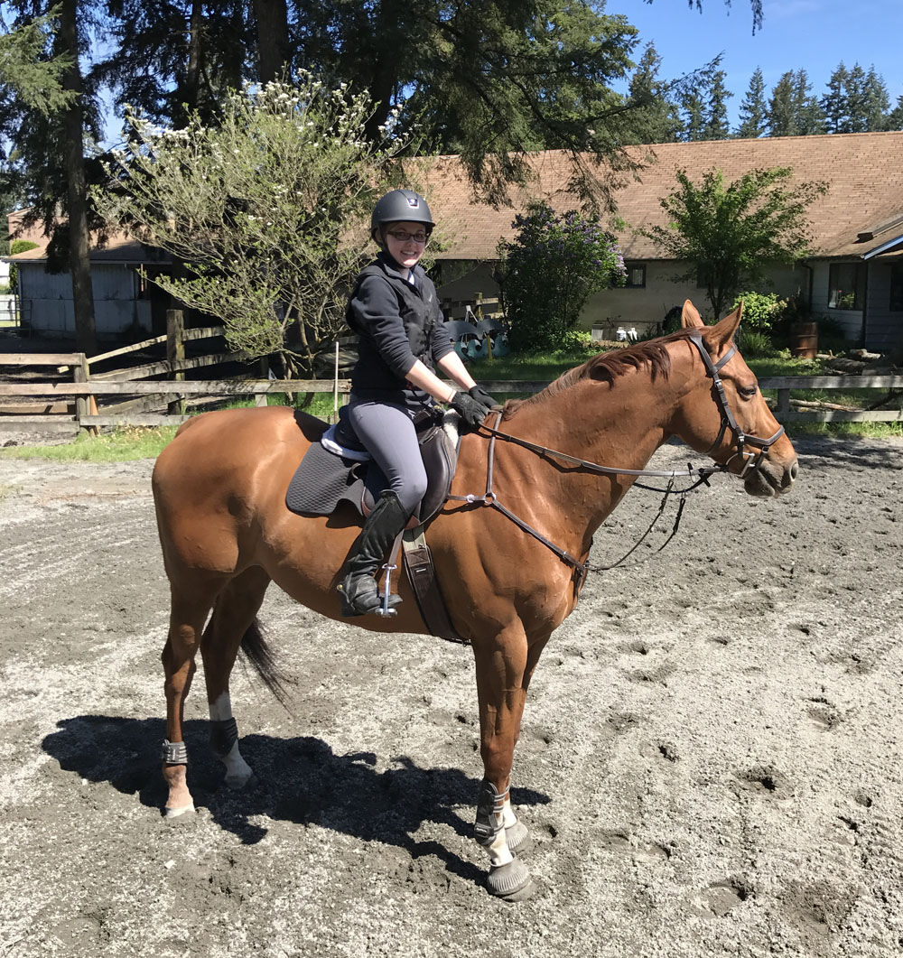 1First ride back! May2017