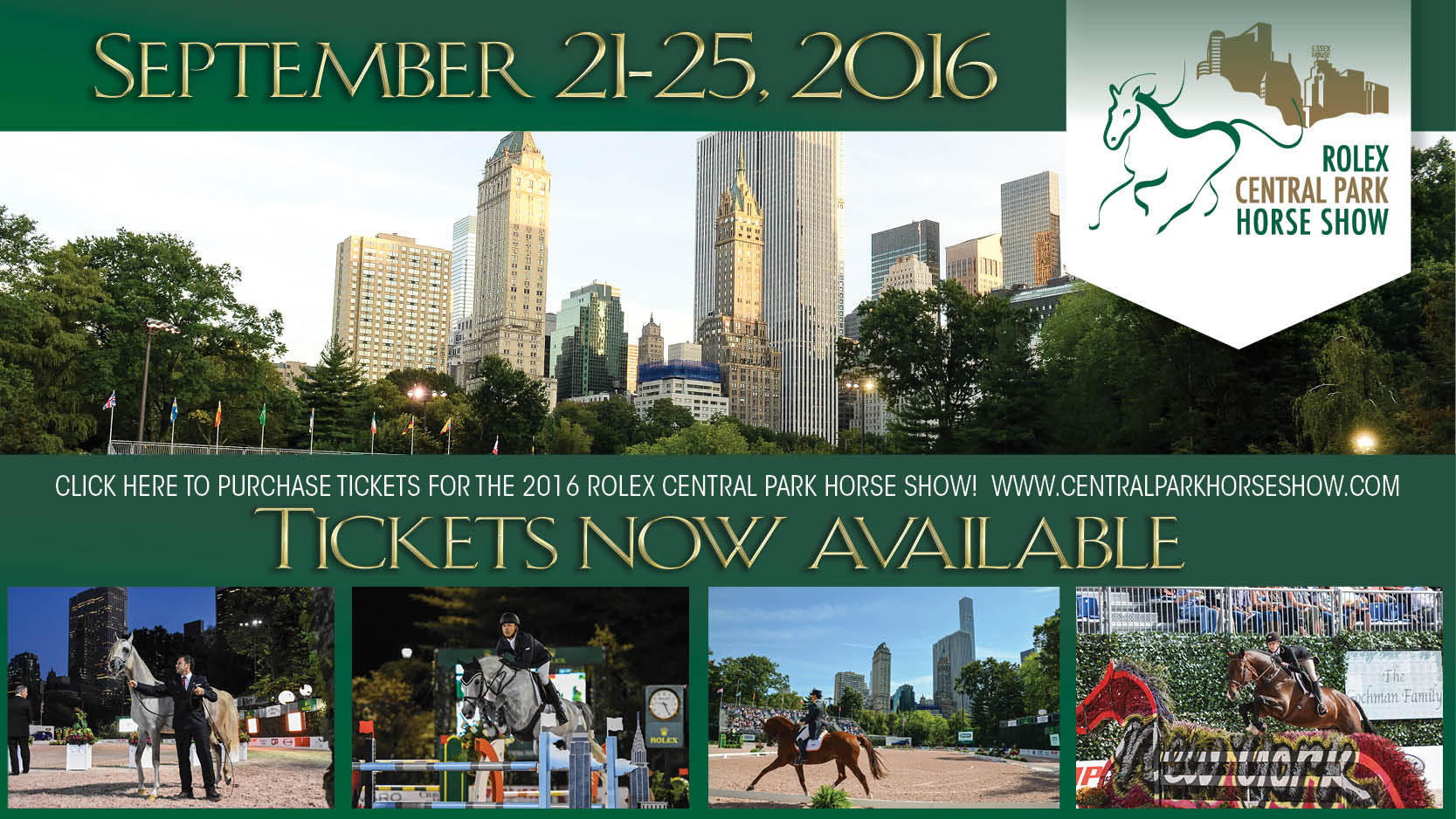 Tickets For Rolex Central Park Horse Show On Sale Now