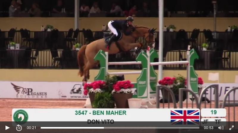 Ben Maher Screen Shot