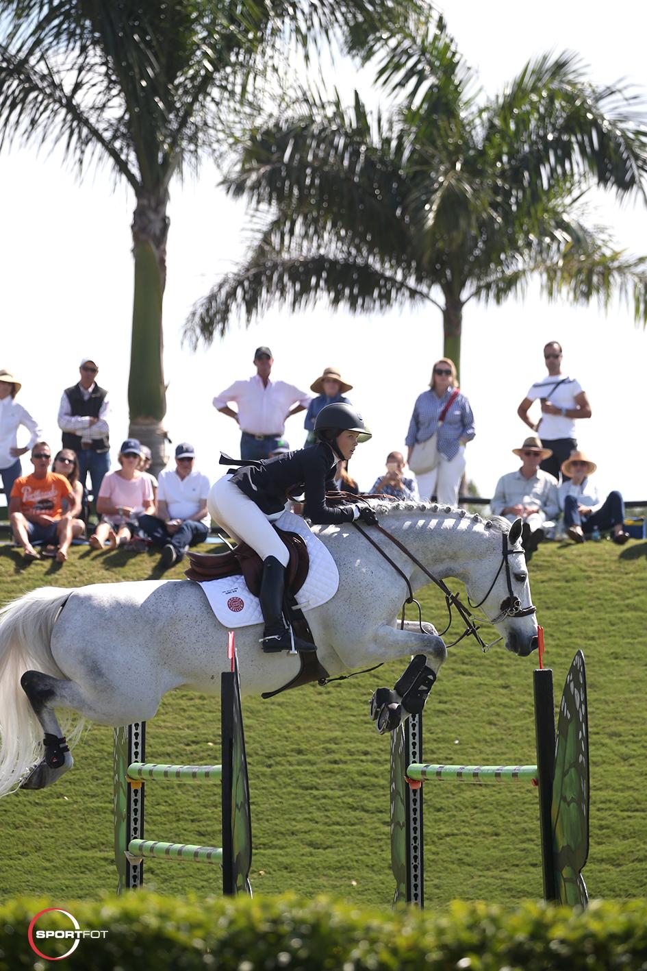21/03/2018 ; Wellington FL ; Winter Equestrian Festival - Week 1