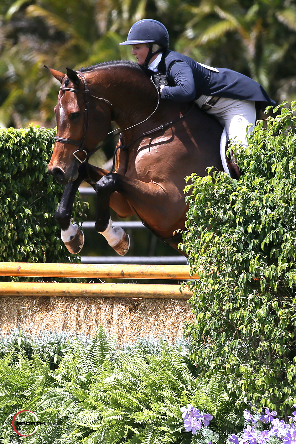 28/03/2018 ; Wellington FL ; Winter Equestrian Festival - Week 1