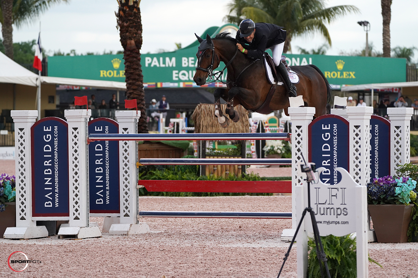 Rodrigo Lambre and Chapilot. Photo © Sportfot