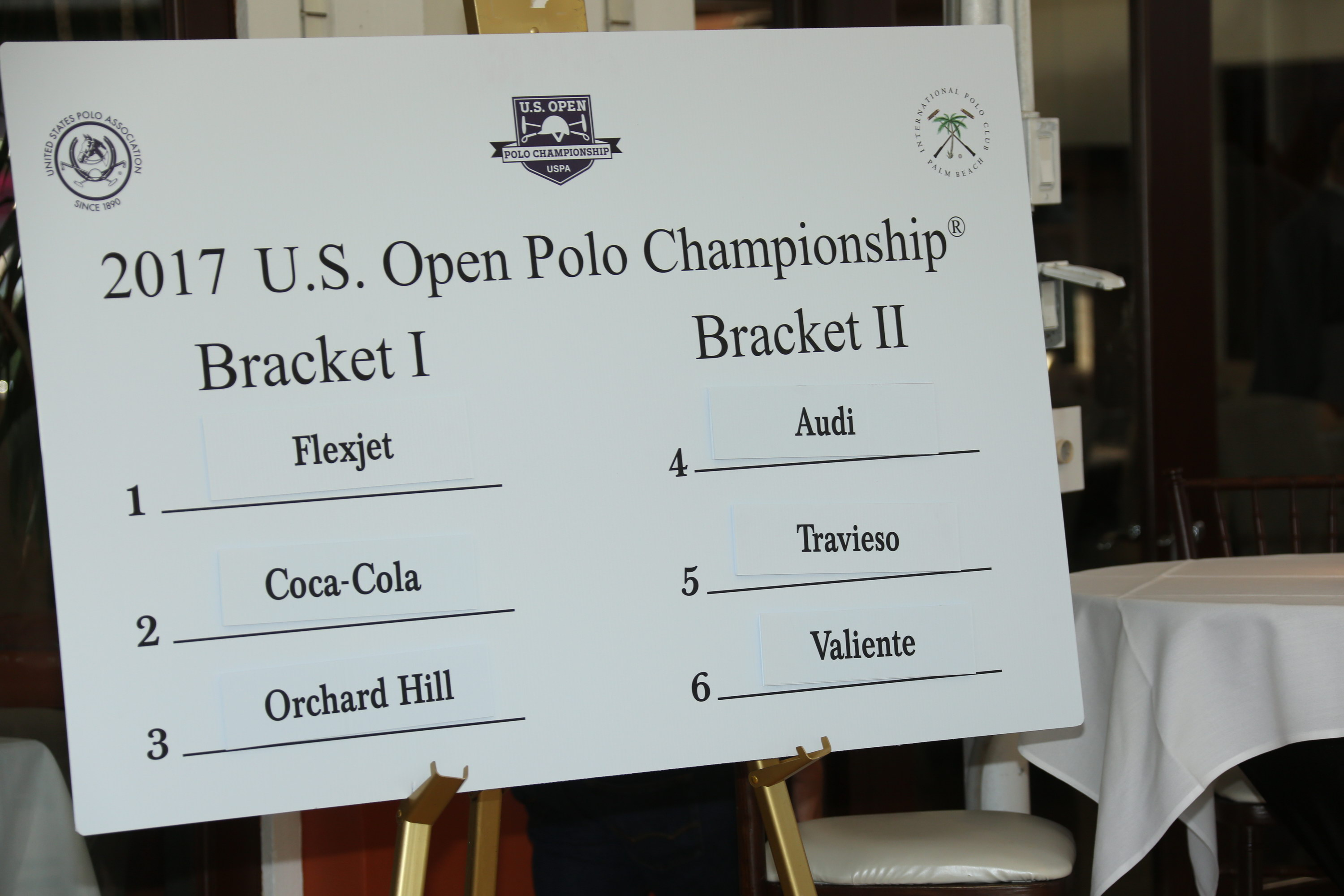 2017 US Open Draw Results