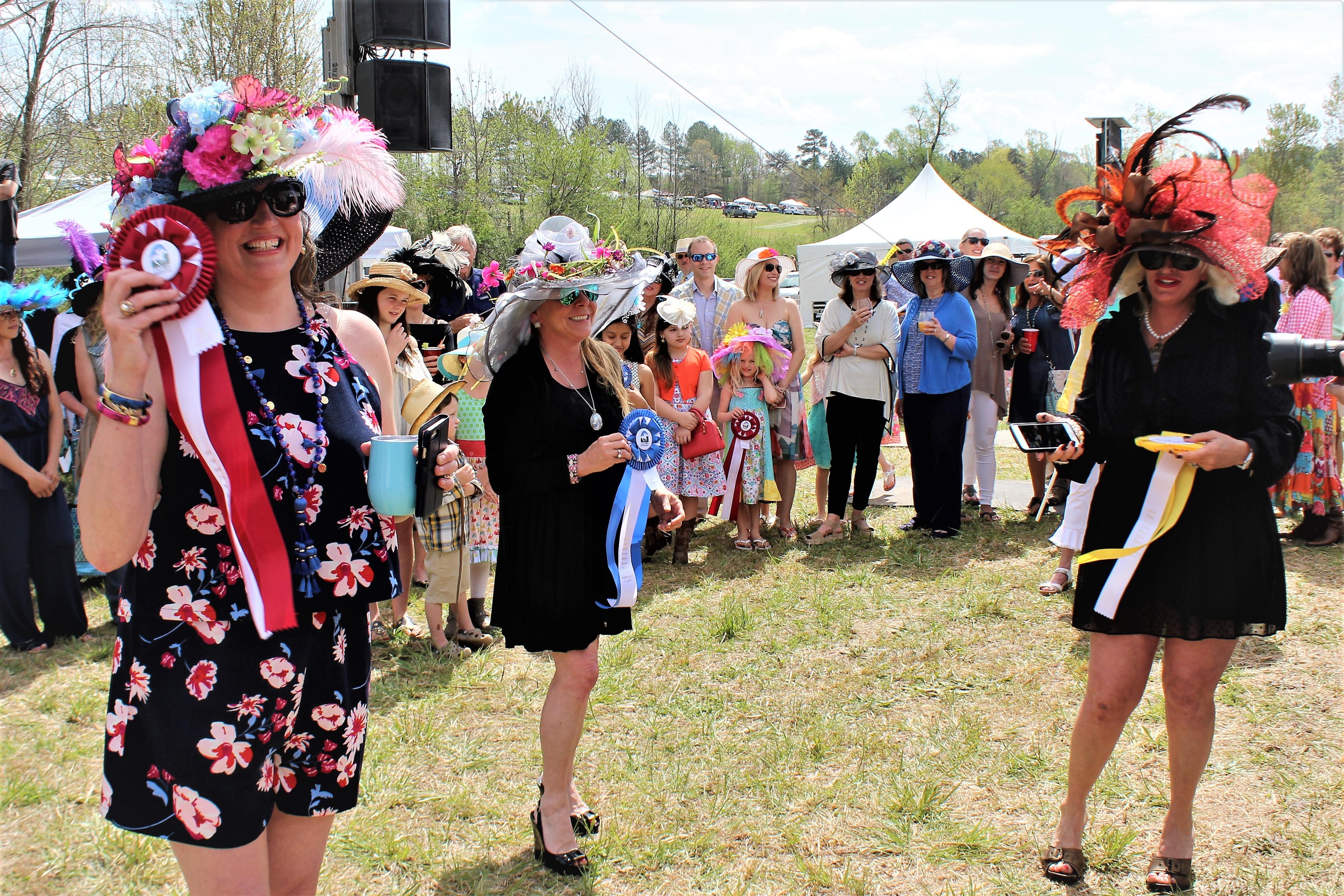 3 Hat Winners Debbie Rogers Photo