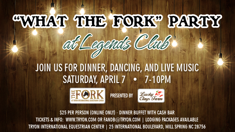 "Join Us for the ""What the FORK"" Party - Click HERE for to Get Your Tickets!"
