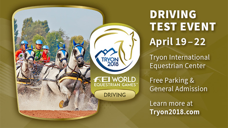 Click HERE for More Information about the WEG Driving Test Event!