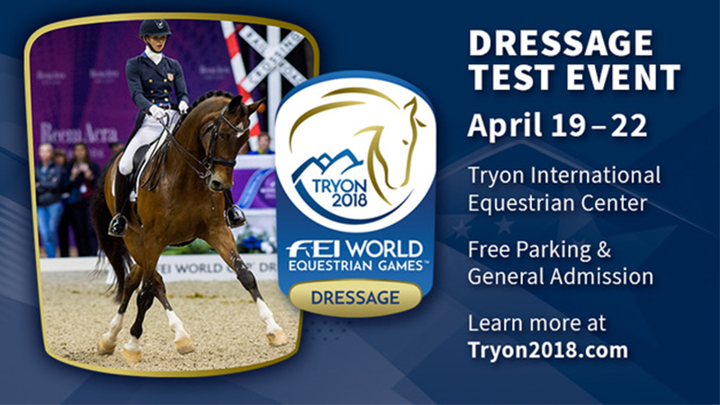 Click HERE for More Information about the WEG Dressage Test Event!