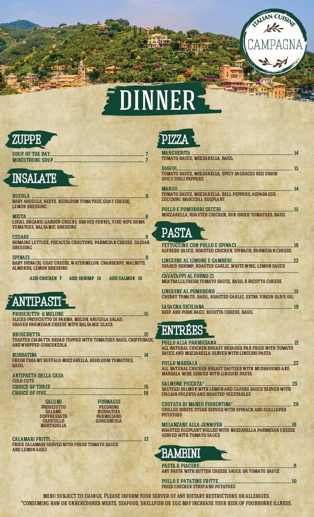 Campagna DINNER Menu (1)