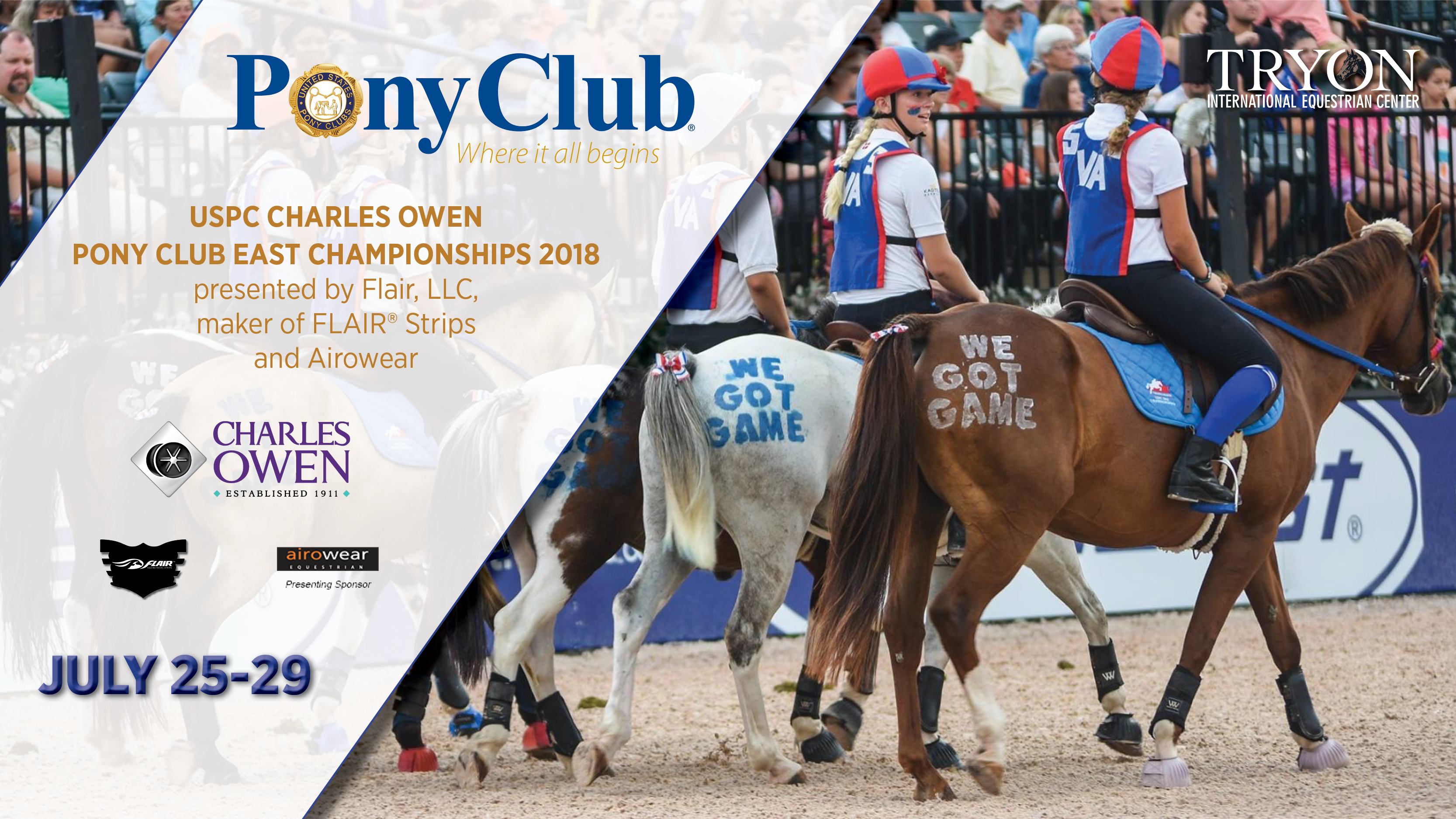 Join us for the USPC Charles Owen Pony Club East Championships 2018!