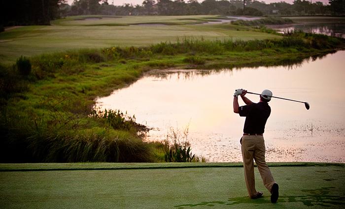 Golfer at Wanderers